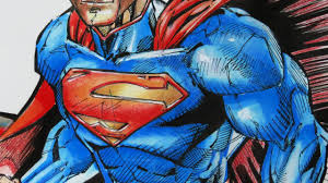 He comes from the planet (fictitious) krypton. Drawing Superman Watercolor Ink Pen Colored Pencils Youtube