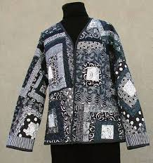 Quilted Sweatshirt Jacket Pattern quilted jacket wild onion ... & Quilted Sweatshirt Jacket Pattern quilted jacket wild onion Adamdwight.com
