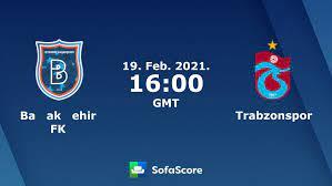 Başakşehir FK vs Trabzonspor live score, H2H and lineups