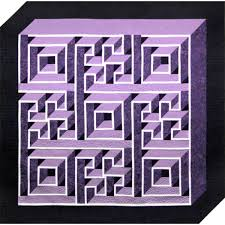 Labyrinth Walk Quilt Pattern Adorable American Quilter's Society Labyrinth Walk Pattern Kits Patterns