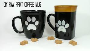 office mugs. DIY Paw Print Coffee Mug Tutorial Office Mugs