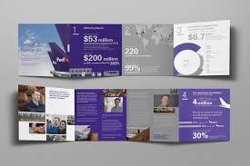 Fedex Brochure Design Art Direction Digital Design Fedex Gcr 2016