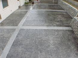 patio paint ideasConcrete Patio Finishes Ideas