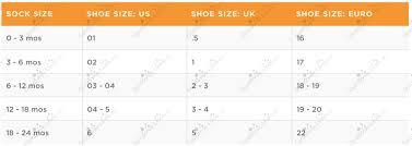 Gymboree Baby Shoe Size Chart 2016 Gymboree 2016 Baby Girl Boy Socks Shoes Size Chart