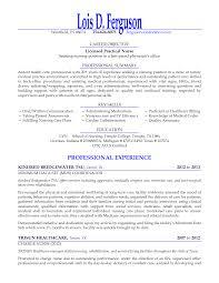Gallery Of Licensed Practical Nurse Seeking Nursing Position Resume