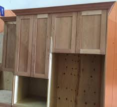 Medium Brown Kitchen Cabinets Unfinished Shaker Cabinets Best Home Furniture Decoration