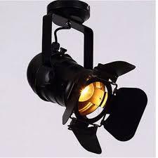 loft bar clothes pendant light hanging track lights spotlight ceiling lamp