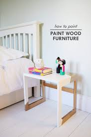 best paint for wood furniture7 Step On Guide How To Paint Wood Furniture  Little House On The