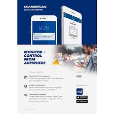 Chamberlain Technical Support Chamberlain 1 25 Hp Whisper Drive Belt Drive Garage Door Opener With Built In Wi Fi And Battery Back Up