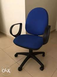 fantoni office furniture. 4 Blue Fantoni Office Chairs Sodeco - Image 1 Furniture