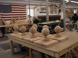 hanson woodturning custom made interior and exterior wood finials