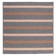 colonial mills primrose gray 10 ft x 10 ft square area rug