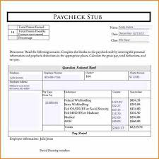 Free Paycheck Stubs Free Check Stubs Download