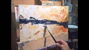 Abstract Painting How To Abstract Oil Painting Technique Youtube