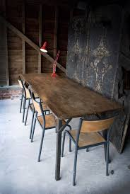 Industrial Dining Room Table Industrial Dining Room Table Modern Rustic Spyder Loft Industrial