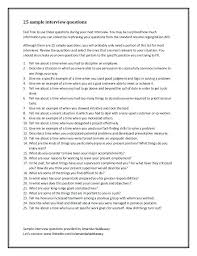 Examples Of Behavioral Interview Questions Job Interview Questions Sample Image Search Results Template Thank