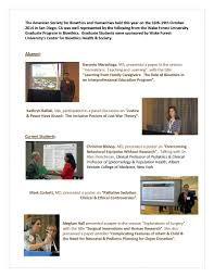 bioethics essay accomplishments duquesne university catholic  past news bioethics asbh 2014 for website 1 page 1