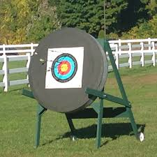 aaa hand crafted large target stand amherst archery academy