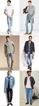 What To Wear With Light Blue Jeans Men What To Wear With Every Shade Of Denim Fashionbeans