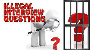 interview bsr career advice illegal interview questions