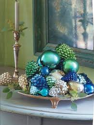 Blue And Green Decor Habitually Chicr Blue Green Christmas
