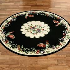 round rooster kitchen rugs outstanding hand hooked rooster round rugs round rooster kitchen rugs rooster kitchen