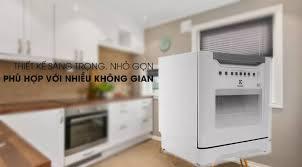 Máy rửa chén mini Electrolux ESF6010BW 1480W (Miễn phí giao tại HCM-ngoài  tỉnh liên hệ shop)