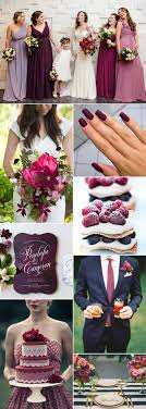 If you are looking for a stylish and sophisticated wedding color palette  then a deep berry