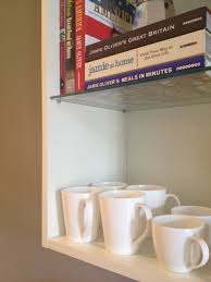 shelf holes after