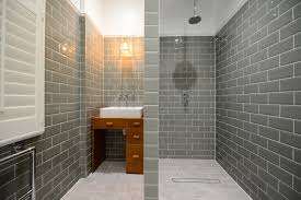 traditional bathroom tile ideas. Traditional Bathroom Tiles Ideas Transitional With Gray Metro Tile Wall Sconce Wet Room