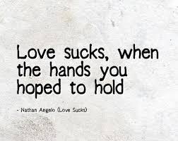 Love Sucks Quotes