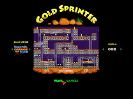 lode runner game remake gold sprinter