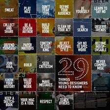 29 Things Young Designers Need To Know