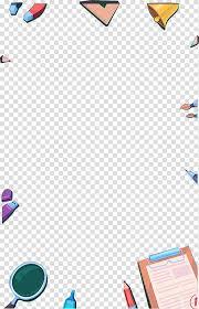 Stationery Color Stationery Border Effect Transparent