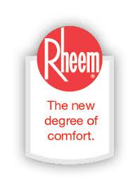 rheem team logo. your rheem water heater specialist team logo