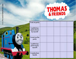 Thomas And Friends Reward Chart Thomas And Friends Potty Training Chart Printable Potty