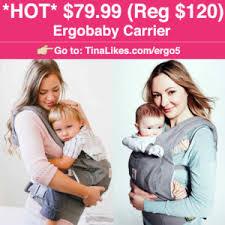 Zulily: $79.99 (Reg $140) Ergobaby Starburst Linen Baby Carrier ...