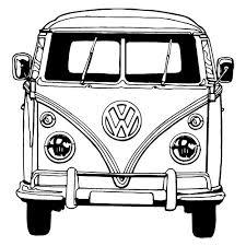 Vw Bus Tekening Google Zoeken Vervoer Camper Tekenen Auto