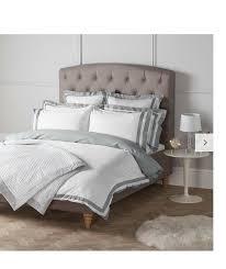 bn bn bn john lewis ascot duvet cover king size white bluee grey 8ecf11