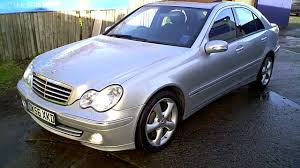 2006 MERCEDES C320 CDI AVANTGARDE SE SALOON DIESEL SPORTS - YouTube