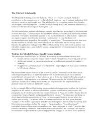 Scholarship Recommendation Letter Format Templates At