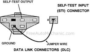 ford check engine light codes automechanic ford diagnostic test port diagram data link connector