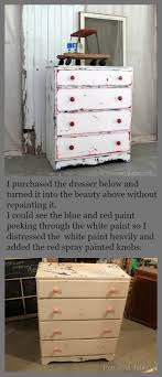distressed blue furniture. Heavily Distressed Red White And Blue Furniture Petticoat Junktion