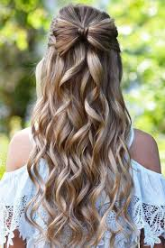 Prom Hairstyle Picture best 25 half up half down ideas half up half down 4014 by stevesalt.us