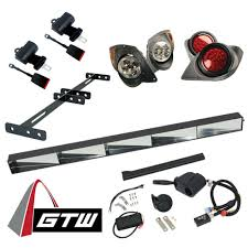 Yamaha G29 Brake Light Switch Gtw Golf Cart Road Ready Kit With Lights For Yamaha G29