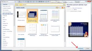 office word download free 2007 how to create a custom calendar in ms word 2007 guide dottech