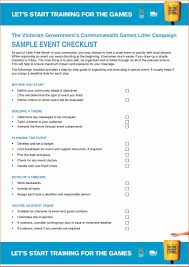 Word Blank School Audit Event Checklist Template Word Form