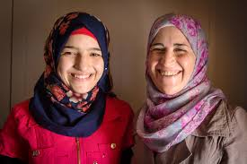 photo essay zaatari youths tackle child marriage women and girls saba s mother izdihar helps her convince families not to marry off their young daughters