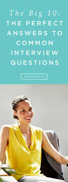 Best 25 Common Interview Questions Ideas On Pinterest Interview