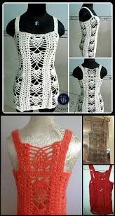 Crochet Tank Top Pattern Simple 48 Quick Easy Crochet Summer Tops Free Patterns DIY Crafts